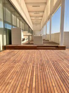 de madera de teja