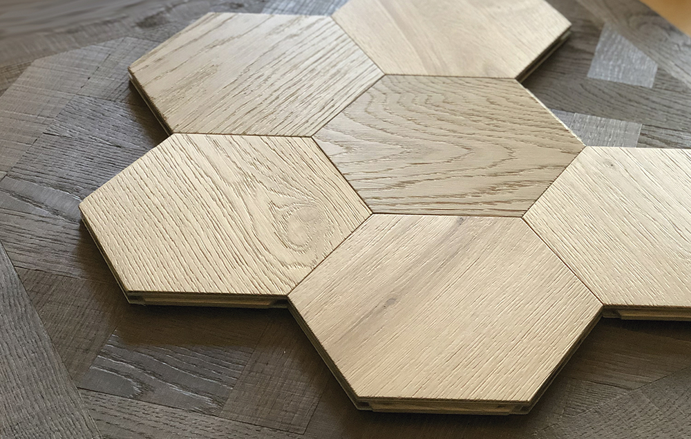 Carácter collection - customisable wooden floors and finishes